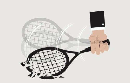 tennis anger